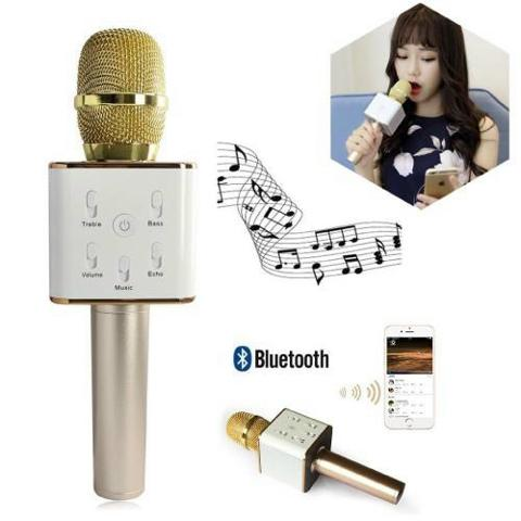 One More - Mic karaoke Q7 3in1 (mic kara + loa + bluetooth )