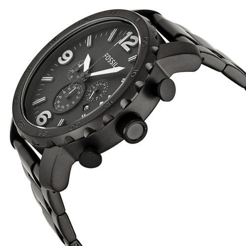 Fossil Black Ion-plated