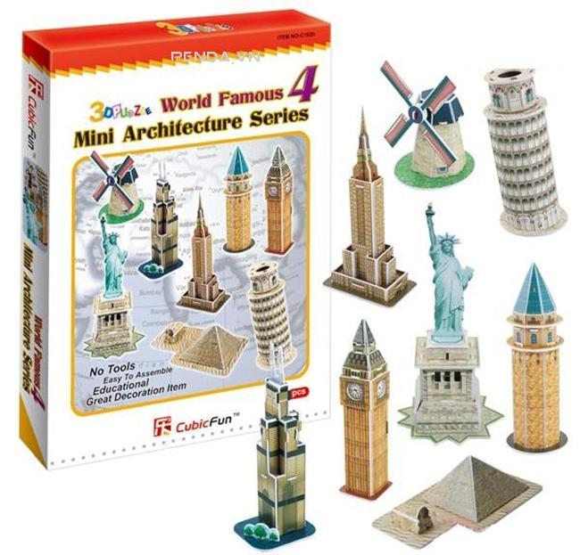 Xếp hình 3D – Bộ sưu tập Mini series 4 C102h