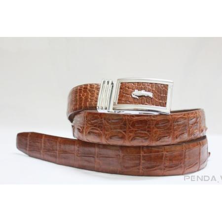 Thắt lưng da cá sấu 002