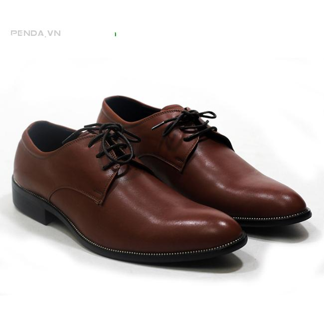 Giày da nâu đẹp 2015 (mã:TD268N)