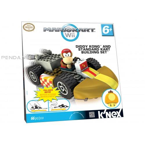 DIDDY KONG AND STANDARD KART BUILDING SET