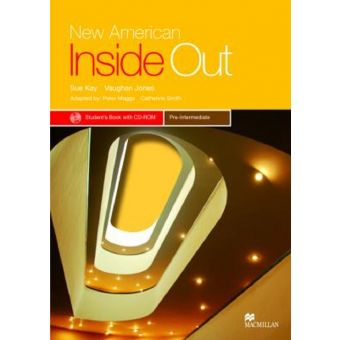New American Inside Out Pre-Inter Student Book with CD-Rom