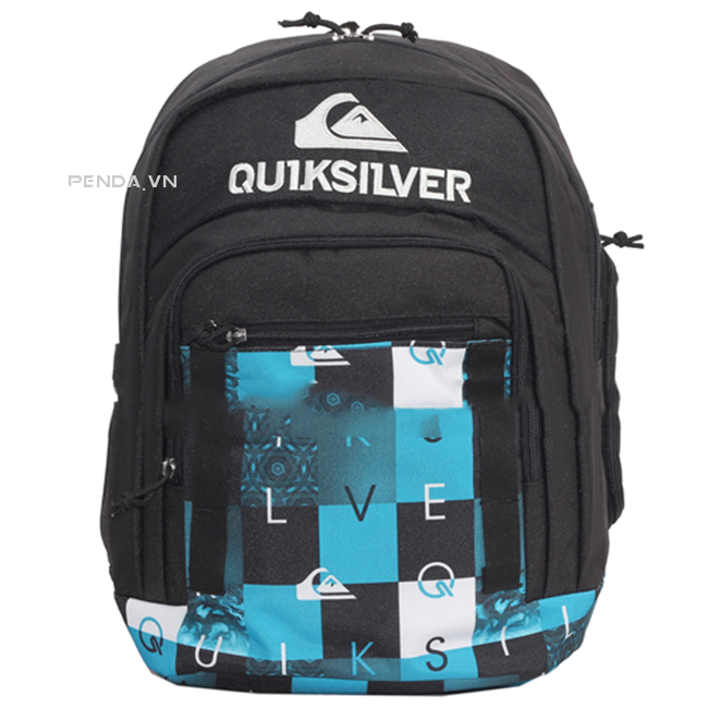Balo Quiksilver Schoolie Backpack - Blue Caro
