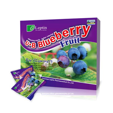 Penda - Viet quat giam can U-B Blueberry Fruit