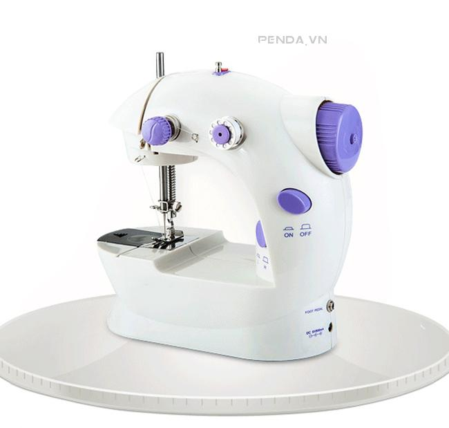 Máy May Mini Sewing Machine 2 Tốc Độ