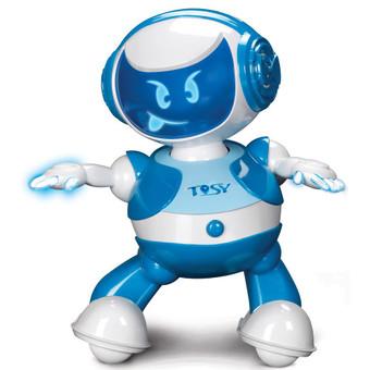 Robot nhảy Tosy Discorobo kèm loa (Xanh dương)