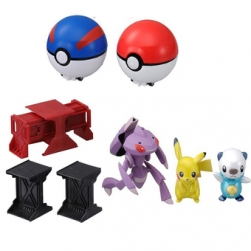 Penda - Super Pokemon Getter DX set Takara Tomy 4904810477754