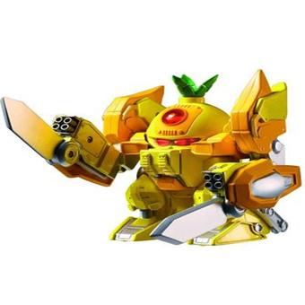 Penda - Do choi robot Thom Giac Dau Fruity Robo YW520520 (Vang)