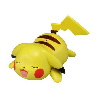 Thú nhựa Pokemon SLEEPY PIKACHU Takara Tomy 4904810471424