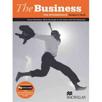 The Business Pre-Inter Student Book with DVD