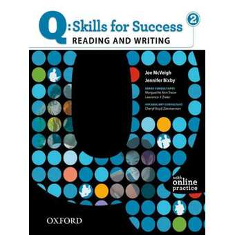 Q Skills for Success 2 Reading & Writing Student Book with Student Access Code Card