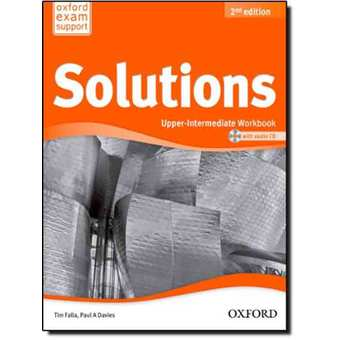Penda - Solutions 2nd Edition Upper Intermediate Workbook and CD Pack