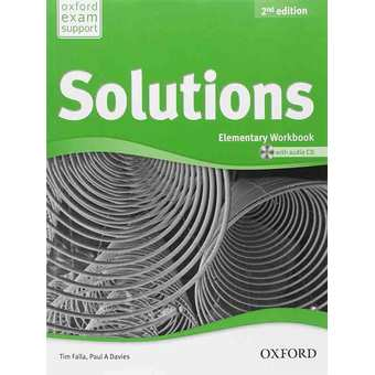 Penda - Solutions 2nd Edition Elementary Workbook and Audio CD Pack