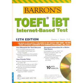 Penda - Barron's Toefl iBT Internet - Based Test 12Th Edition - Pamela J. Sharpe