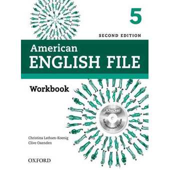 Penda - American English File Second Edition 5 Workbook with iChecker