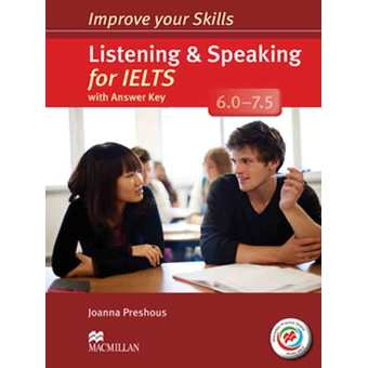 Penda - IMPROVE YOUR IELTS SKILLS 6 - 7.5 LISTENING & SPEAKING SKILLS WITH KEY & MPO PACK