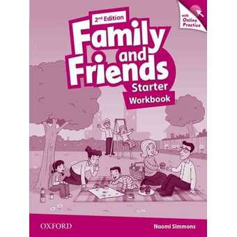 Penda - Family & Friends, Second Edition Start Workbook & Online Practice Pack
