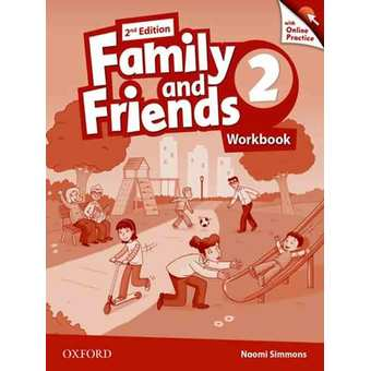 Penda - Family & Friends, Second Edition: 2 Workbook & Online Practice Pack