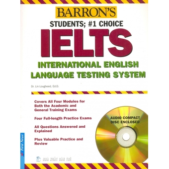 Penda - Barron's IELTS International English Language Testing System (Kem 2 CD) - Lin Lougheed, Ed.D.