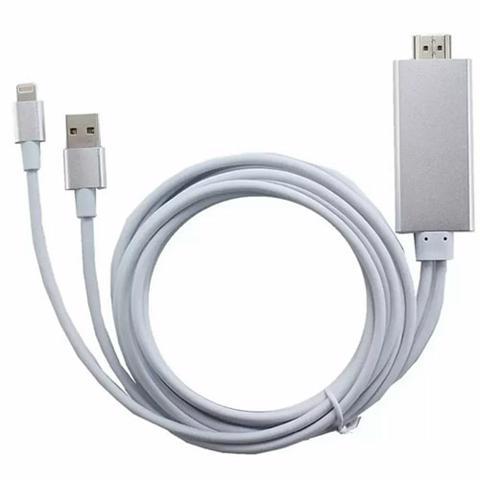 Phụ kiện Phát Đạt - Cap HDMI cong lighting ra tivi