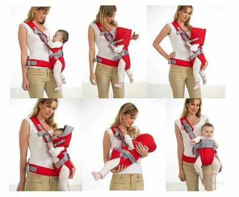 Phụ kiện Phát Đạt - Dai diu em be 6 tu the baby carrier