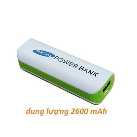 Phụ kiện Phát Đạt - Pin du phong samsung power bank 2600 mah