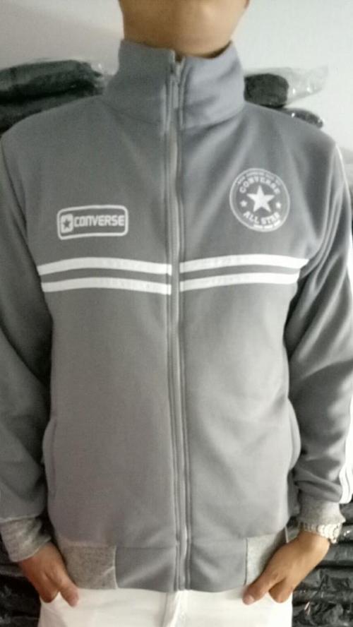 Áo khoác nam converse star - dưới 63kg mặc vừa - bao vải dày
