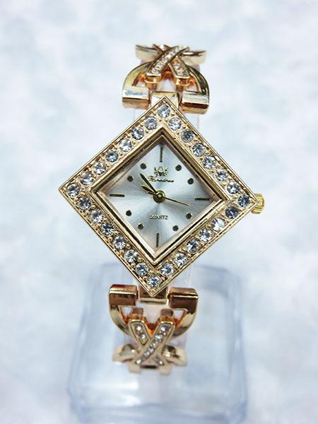 Đồng hồ nữ mạ vàng hình thoi 057 ( có hộp )