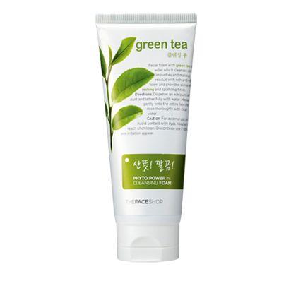 Phụ kiện Phát Đạt - Sua rua mat tra xanh green tea the face shop 170ml