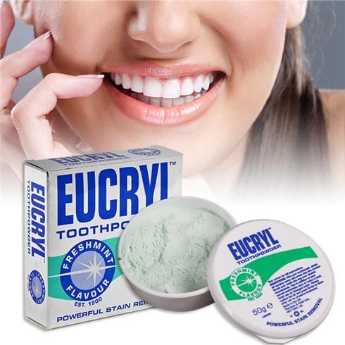 Bột tẩy trắng răng Eucryl