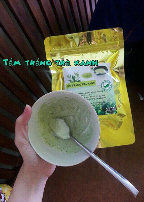 Tắm trắng trà xanh 4 in 1