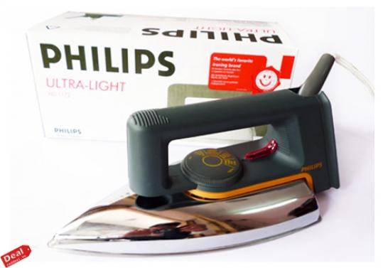 Bàn Ủi khô Philips HD1172 :