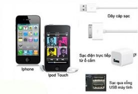 Combo phụ kiện cho điện thoại Iphone