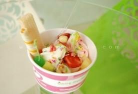 Yogurt tự chọn tại Berry Mucho Frozen Yogurt