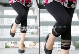 Combo 2 quần legging lửng