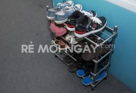 Kệ để giày Inox 4 tầng cao cấp