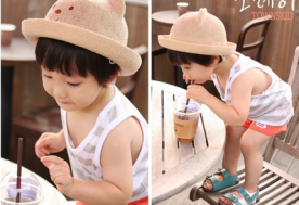 Nón gấu xinh Hàn Quốc cho bé - redeal