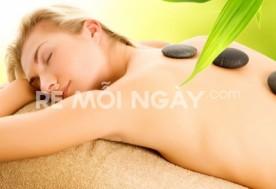Massage đá nóng tinh dầu hương thảo ( 70 phút) tại Sài gòn Tina spa