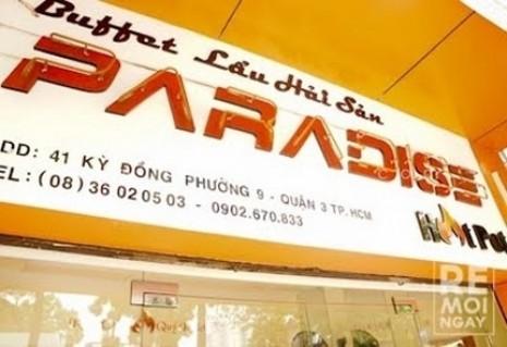 Buffet Hải sản và các món nướng PARADISE - 1 - Nhà Hàng