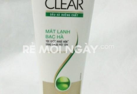 Dầu xả tóc dưỡng chất clear 122ml