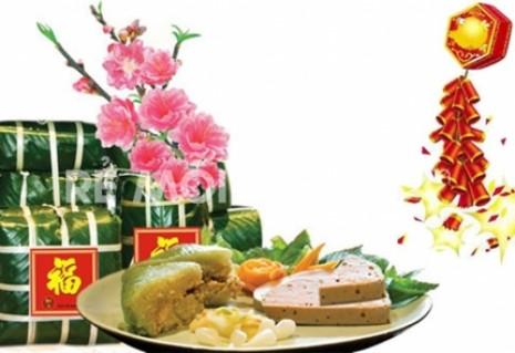 Bánh Chưng Phú Hương Ngày Tết- 02 bánh x 1,4kg/bánh) - Đồ Ăn