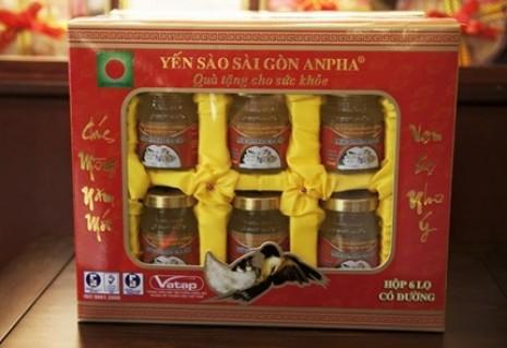 1 hộp yến sào Sài Gòn Anpha( 6 hũ x 70 ml) có đường và không đường - Đồ Ăn