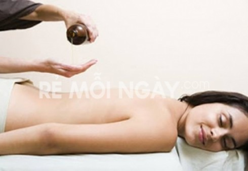 Massage body ấn huyệt toàn thân với tinh dầu thảo dược + đá nóng tại Mộc Nguyên Spa