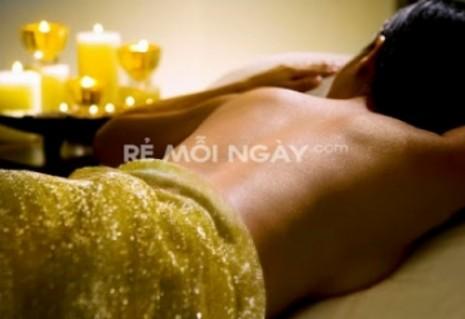 Massage thư giãn tinh thần + bấm huyệt đá nóng núi lửa kết hợp tắm dưỡng toàn thân ( 90 phút) tại Word spa