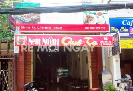 Combo 2 phần nem nướng Ninh Hòa