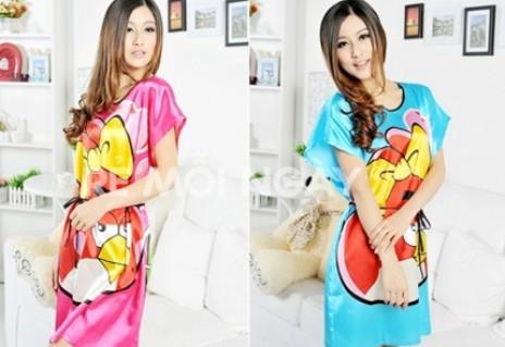Đầm mặc nhà - Đầm ngủ hoạt hình