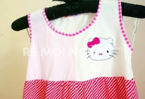 Combo 2 áo đầm dễ thương cho bé