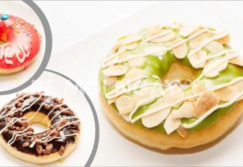 Combo 6 bánh Donut lớn trọng lượng 50- 60 Gram/bánh