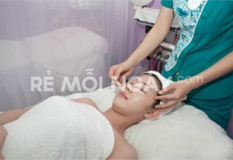 Điều trị thâm quầng, nếp nhăn, túi mỡ vùng mắt bằng mỹ phẩm Cellact ( 70 phút) tại Kim Spa